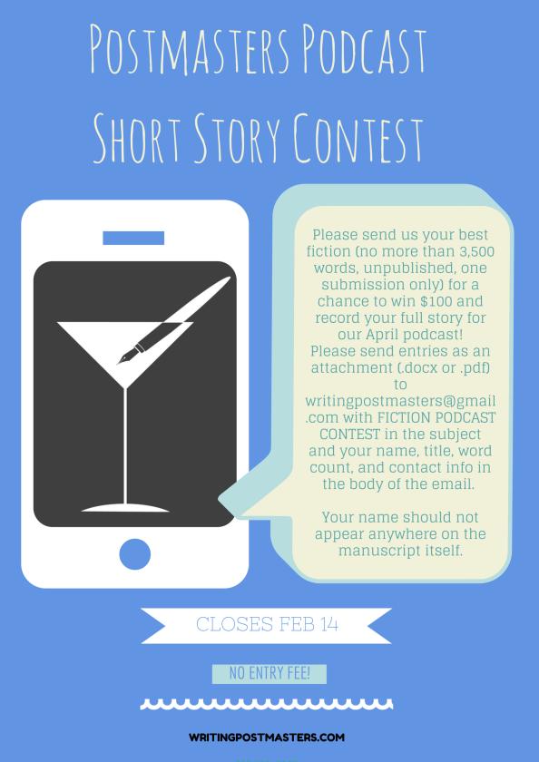 Postmaster's PodcastShort Story Contest
